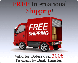 Shipping Cost 100% Free! All over the World